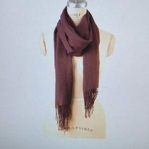 NWT Beautiful French Roast Bamboo Wrap/Scarf
